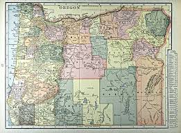 map of oregon with counties maps grant county chamber of commerce oregon
