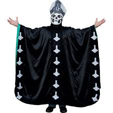 ghost b c papa robe costume rockabilia