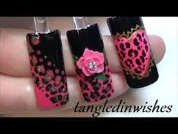 betsey johnson inspired leopard nail art nail art gallery