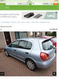 nissan almera for sale done deal cars the general nonsense forum the pie shop