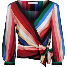 wrap shirts blouses wrap front blouse 505 liked on