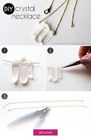 crystal necklace diy images Diy crystal necklace diy fashi diy jewelry diy jpg