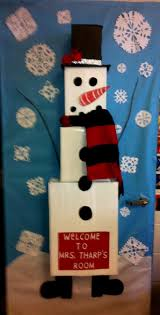 snowman door decorations cowboy door decorations