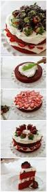 red velvet strawberry shortcake sharelove chocolate chocolate