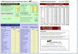 Excel Spreadsheet Budget Template by Real Estate Agent Budget Template Excel Yaruki Up Info