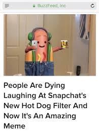 Hot Dog Meme - buzzfeed killed the hotdog meme teenagers