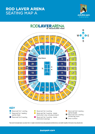 rod laver arena seating rod laver arena floor plan