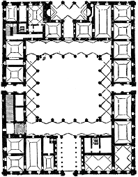 Sir Banister Fletcher Plan Of Farnese Palace Clipart Etc