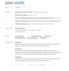 simple cv format in word file striking resume format wordnload template cv in how to do on