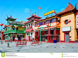 Chinatown Los Angeles Map by Chinatown In Los Angeles Editorial Image Image 24975755