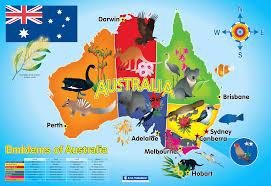 Austrailia Map Australia Map Poster From Class Ideas Issue 46 Aussie Aussie