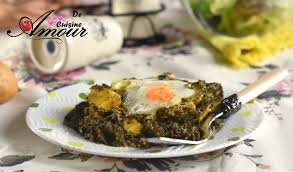 cuisine oeufs chtitha selk aux oeufs ou poêlée d épinards aux oeufs amour de