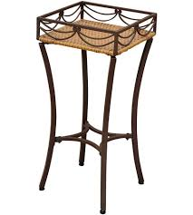 Outdoor Bakers Rack Wrought Iron Plant Stands And Plant Display Racks Organize It
