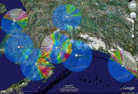 Satellite Weather Map Alaska Mountain Weather