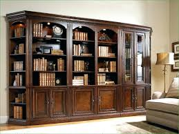 Wooden Bookcase With Glass Doors Enclosed Bookcase Shelves The Most Bookcases Glass Doors Amazing