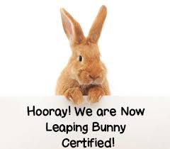 lōa is now certified cruelty free by the leaping bunny program