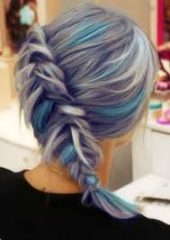 salt and pepper hair with lilac tips best 25 grey hair with purple highlights ideas on pinterest