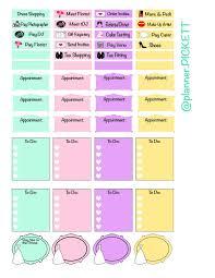 planner pickett free wedding sticker printable set