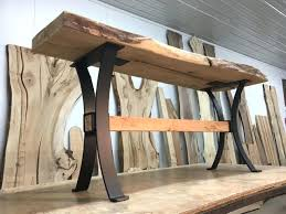 unfinished wood table legs steel sofa table base ohiowoodlands metal table legs console wood