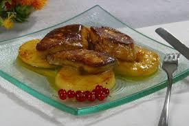 cuisiner foie gras frais gras poêlé aux pommes