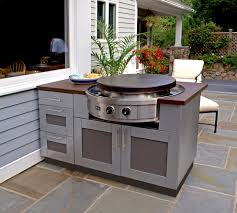 Affinity Kitchens by Outdoor Kitchen With Evo Circular Cooktop Evo Affinity 30g
