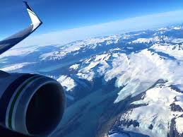 best plane window seat view between seattle and anchorage