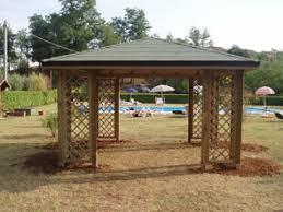 gazebo da giardino in legno prezzi gazebo di legno per giardino profilati alluminio