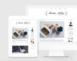 lifestyle design blogs fashion blogger template lifestyle blog design feminine