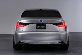 lexus lf gh concept hybrid sports sedan unwrapped 50 high res photos