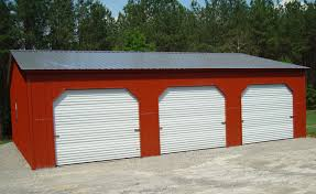 3 Car Garages Flat Roof Garage Plans Comfortable One Car Two Amazing Loversiq