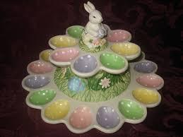 ceramic egg plate 240 best deviled egg trays images on boiled eggs