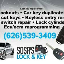 lexus key cutting san diego sosa u0027s locksmith keys u0026 locksmiths 4327 peck rd n el monte