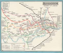 Underground Map The London Underground Turns 150 See How The Tube Map Has Changed