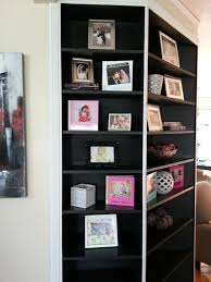 new look for built in bookshelf u2013 heart loves home