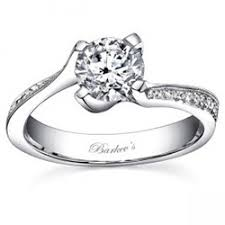 twisted shank engagement ring barkev s four prong twisted shank engagement ring with diamonds