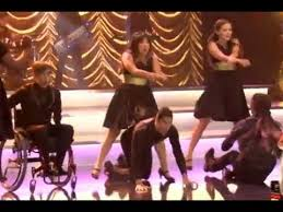 glee cap thanksgiving psy gangnam style at sectionals 04x08