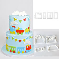 diy cake train mould promotion shop for promotional train mould on