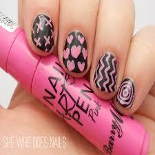 best of simple nail pen designs