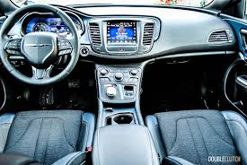2015 Chrysler 200s Interior 2015 Chrysler 200s Awd Review