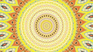 solar plexus crystals relaxing solar plexus chakra mandala meditation youtube