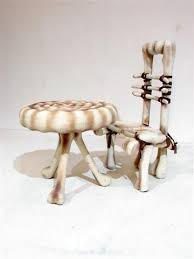 bone chair themed furniture hire event prop hire