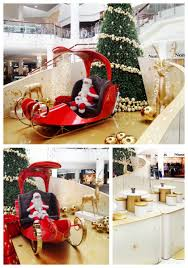 wesfield shopping centre decoration santa set