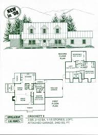 log home floor plans with garage crockett ii appalachian log u0026 timber homes rustic design for