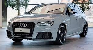 audi rs3 sportback for sale usa nardo gray rs3 sportback by audi exclusive on display at audi