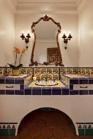 Colonial Bathroom Lighting Spanish Colonial Mediterranean Bathroom Santa Barbara By