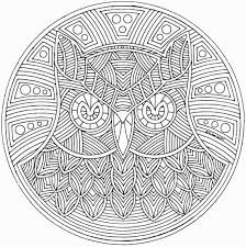 fancy free printable mandala coloring pages 18