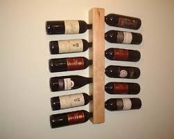 amazon com natural maple wooden wine rack wall wine rack