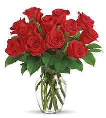 one dozen roses one dozen roses vase nationwide florist delivery