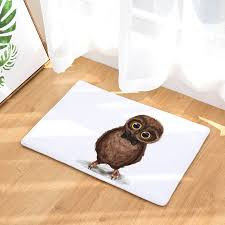 Owl Kitchen Rugs Decoruhome Waterproof Anti Slip Door Mat Dalmatian Owl Kitchen