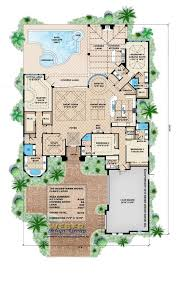 Mediterranean Floor Plan 45 Best House Plans Images On Pinterest House Floor Plans Bonus